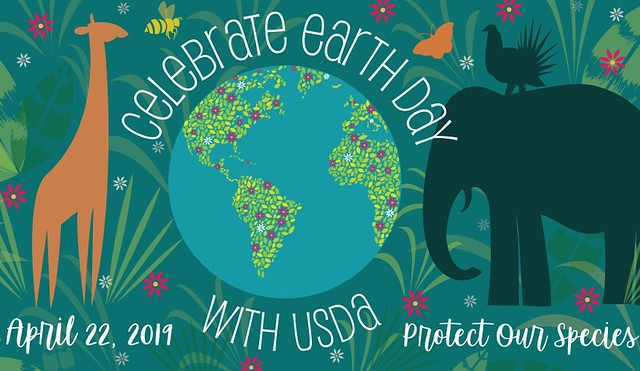 Celebrate Earth Day with USDA graphic
