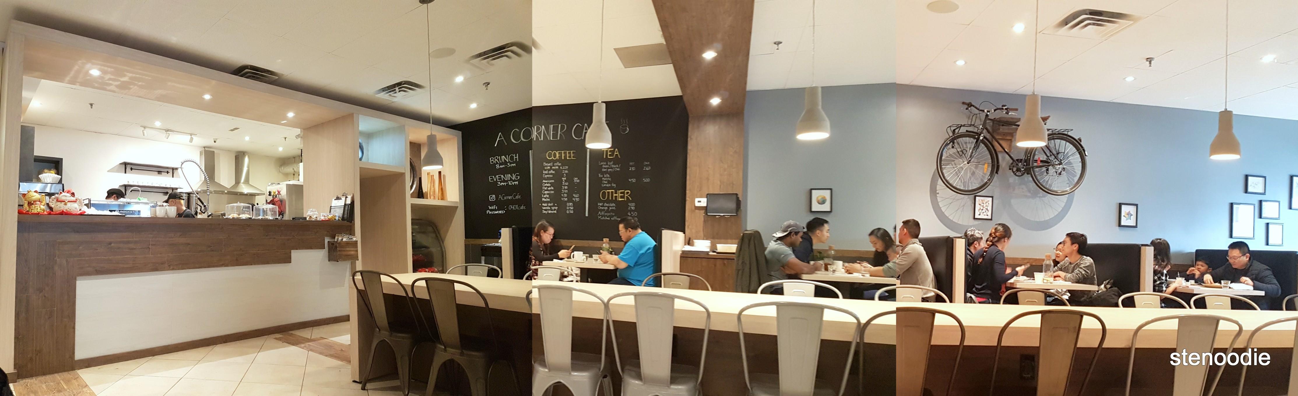 A Corner Cafe interior