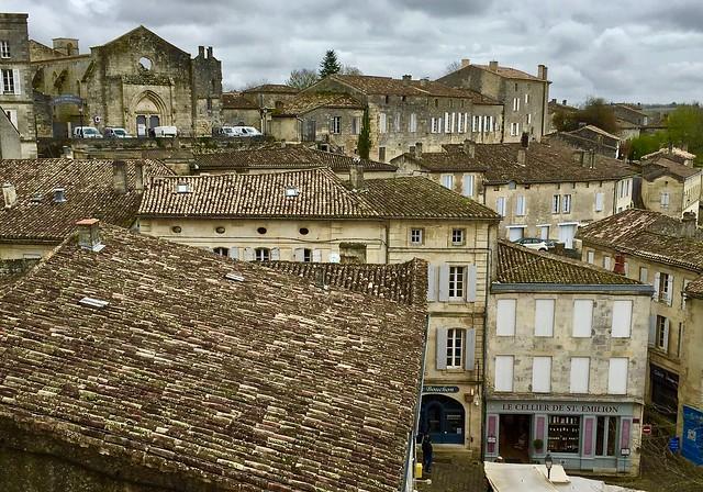 Rooftops, Saint-Emilion