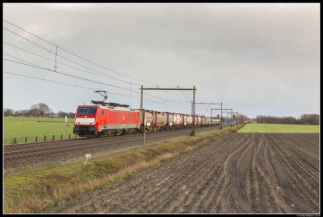 DB Cargo 189 086, Zenderen