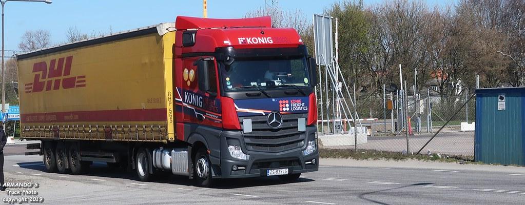 Mercedes (PL835) Konig Freight Logistics - DHL | Tompa