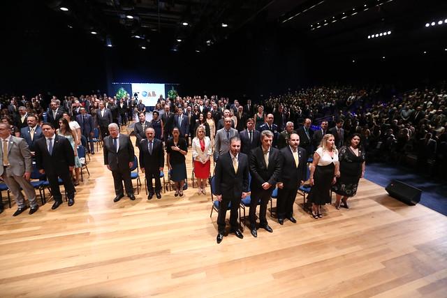 22.02.2019 - Cerimônia de posse solene da diretoria da OAB SP e CAASP gestão 2019/2021
