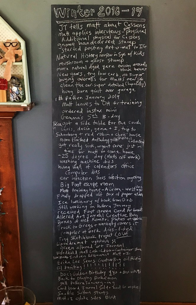 Seasonal chalkboards