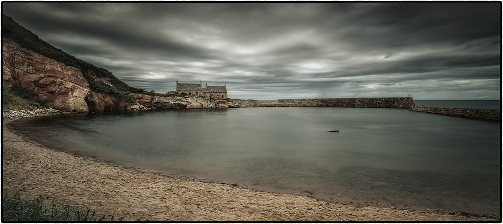after the storm   Berwickshire coast