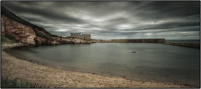 after the storm | Berwickshire coast