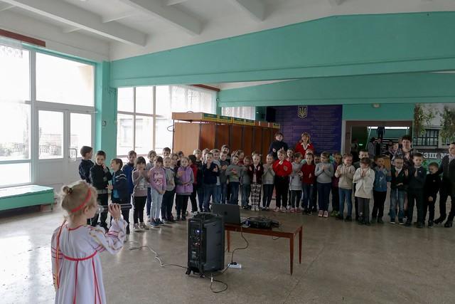 Пісенний калейдоскоп «Україна одна на всіх», 17.04.19