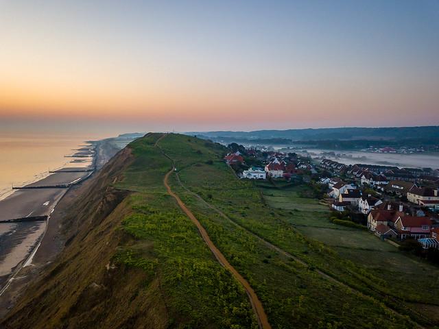 Cliff Top Pre-Dawn