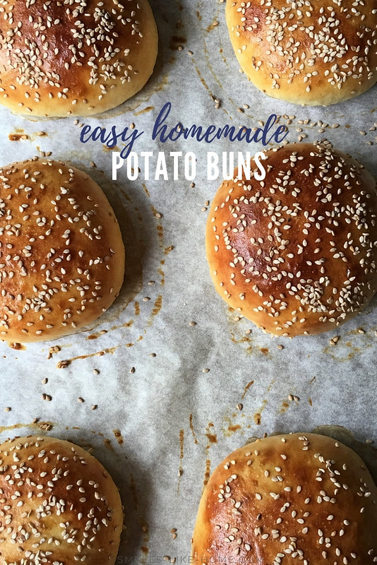 Potato Burger Buns