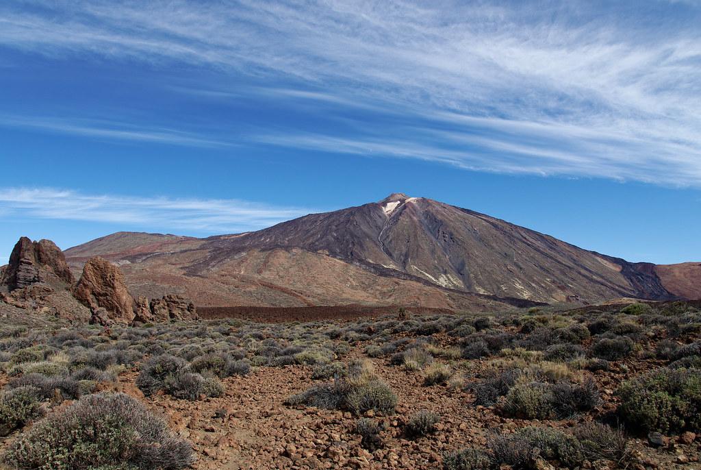 Кальдера Лас Каньядас. Вулкан Тейде.