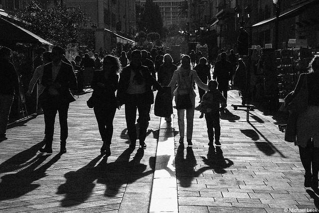Shadows; Nice, Alpes-Maritimes, France