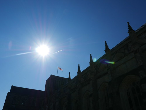 Rising Above Winchester Cathedral
