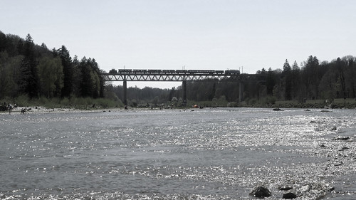 Über die Großhesseloher Brücke | by Entenfang1