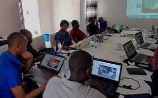 PATH training workshop with Ministry of Health staff - photo Marena Brinkhurst Mapbox