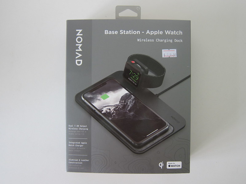 Nomad Base Station Apple Watch Edition - Box Front