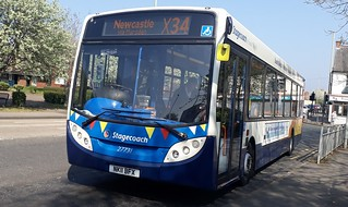 Stagecoach south shields 27731 RARE ON THE X34