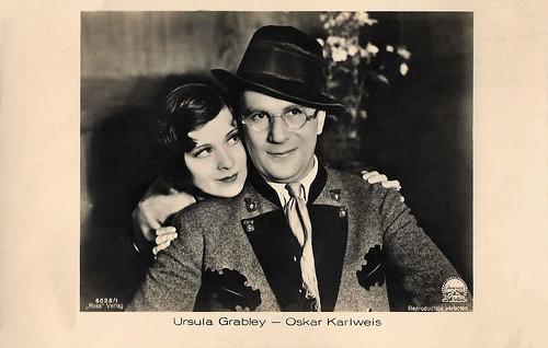 Ursula Grabley and Oskar Karlweis in Das Konzert (1931)