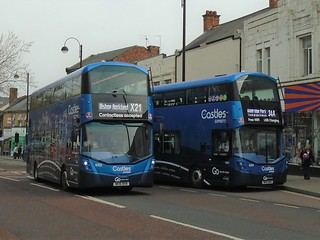 Go North East 6302 / NK16 BXB & 6304 / NK16 BXD.