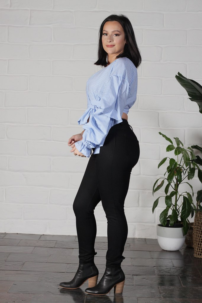 Julia Bobbin - Gingham Shirt