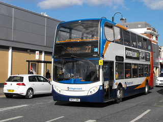 Stagecoach in Newcastle 19207 NK57DWO