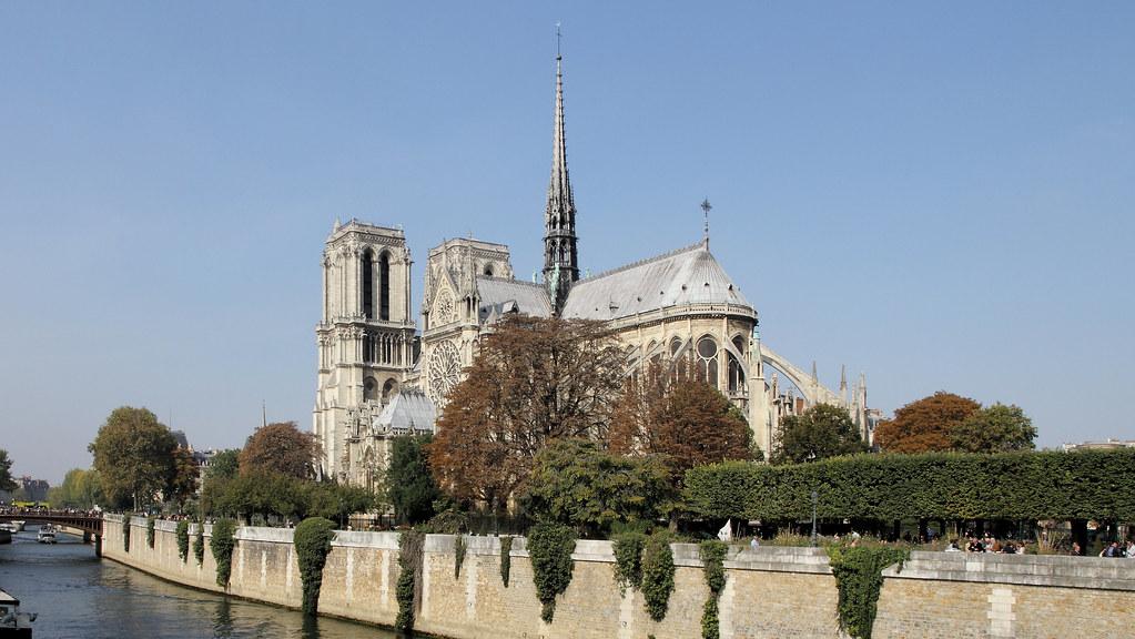 So beautiful was Notre-Dame de Paris !