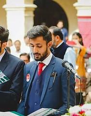 Oath taking ceremony at Sindh Madressatul Islam University