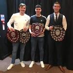 Award Winners 2018/19: Euan Storrier, Glenn Murison & Michael Clark