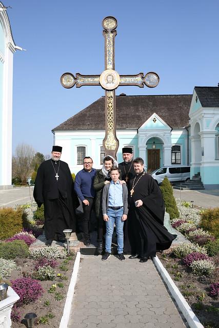 Wielkopostna pielgrzymka młodzieży do Poczajowskiej Ławry