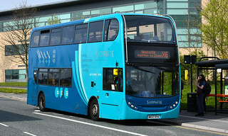 Arriva North East: 7504 / NK57DYA