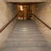 Escaliers vers étage 1. Bunker hôpital Fort Saint-Jean