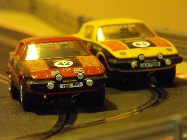 Scaelxtric Triumph TR7s