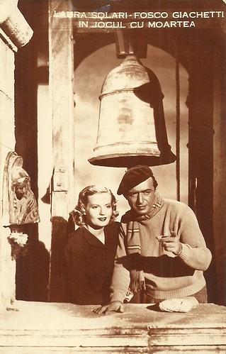 Fosco Giachetti and Laura Solari in Ridi Pagliaccio (1941)