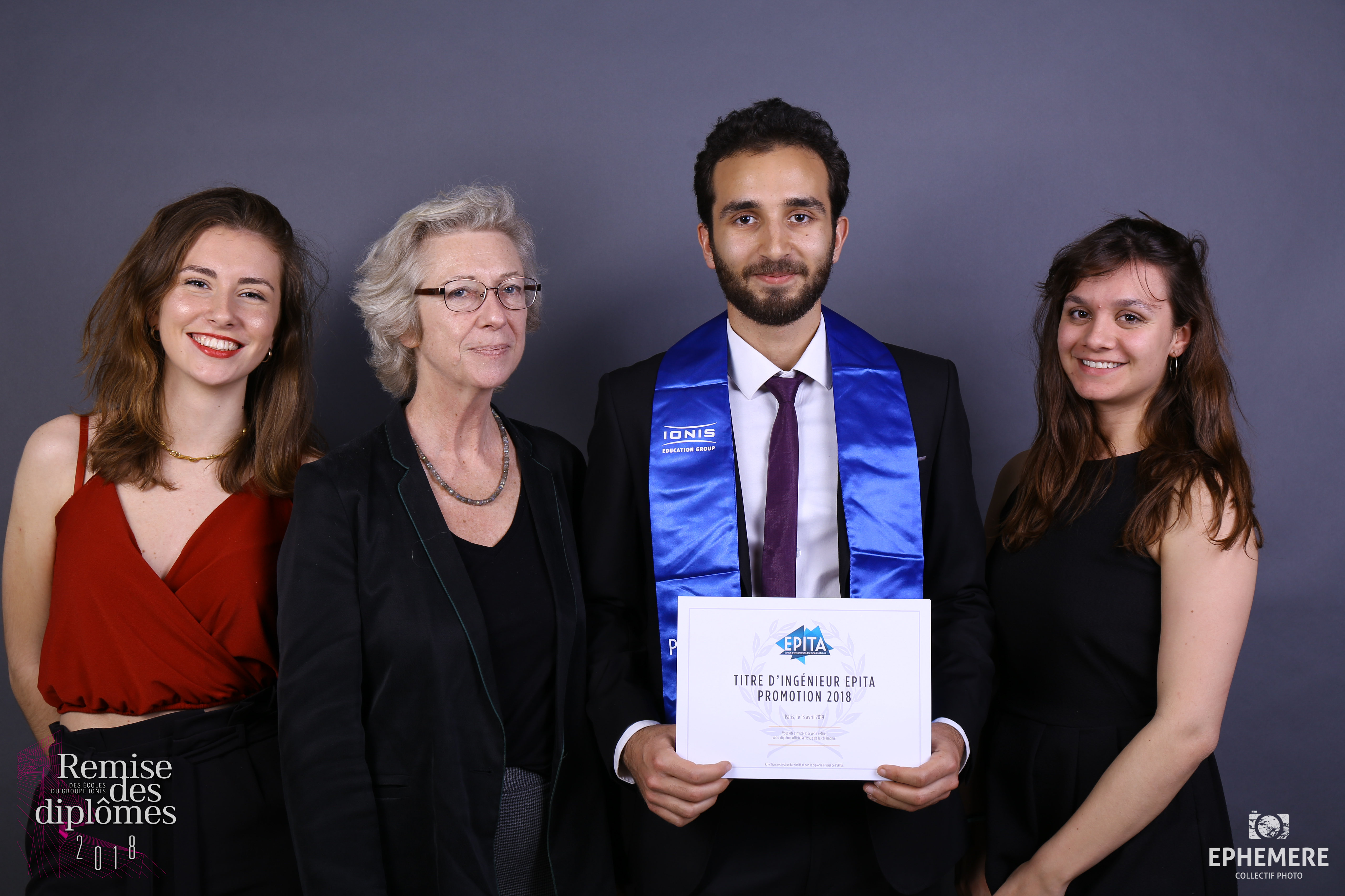 Remise des diplômes EPITA IPSA ESME SUDRIA 2018