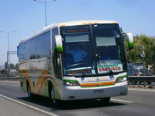 Buses Peñablanca: Busscar Vissta Buss LO - Mercedes Benz O-500RS (BYFD61).