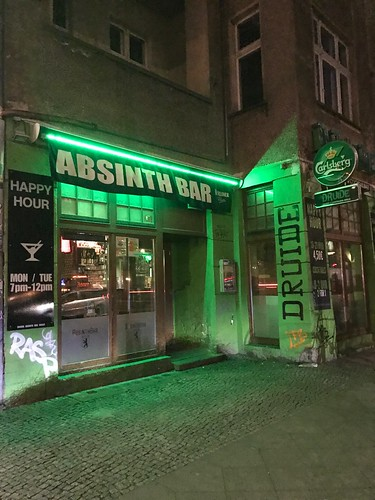 Absinth Tasting - An Airbnb Experience at Druide Bar, Berlin, Germany, March 8, 2019 | by JenniferHuber