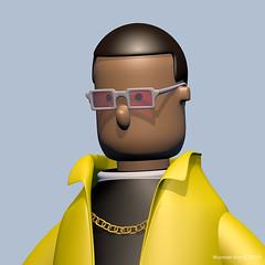 Yellow suit man