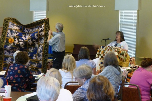 Misty Mountain Quilt Guild presentation at FromMyCarolinaHome.com