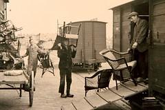 Historie van de tram en invasielocomotief Noordwolde