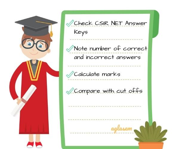 CSIR NET Answer Key 2019