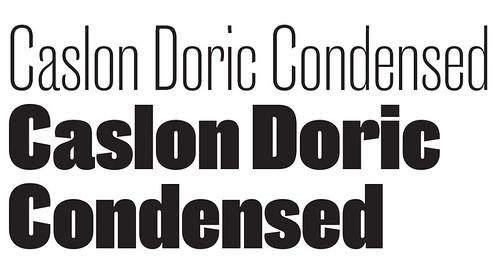 Caslon Doric