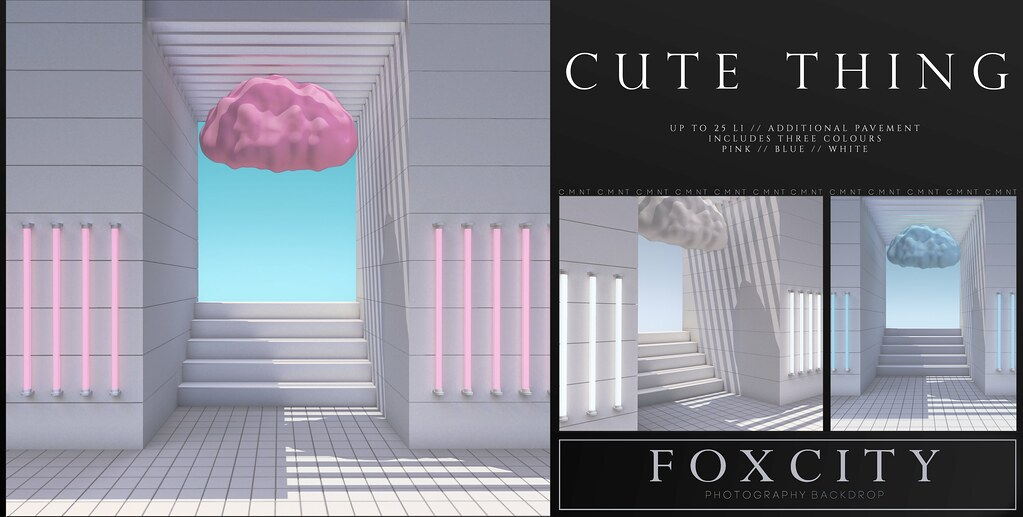 FOXCITY. Photo Booth – Cute Thing
