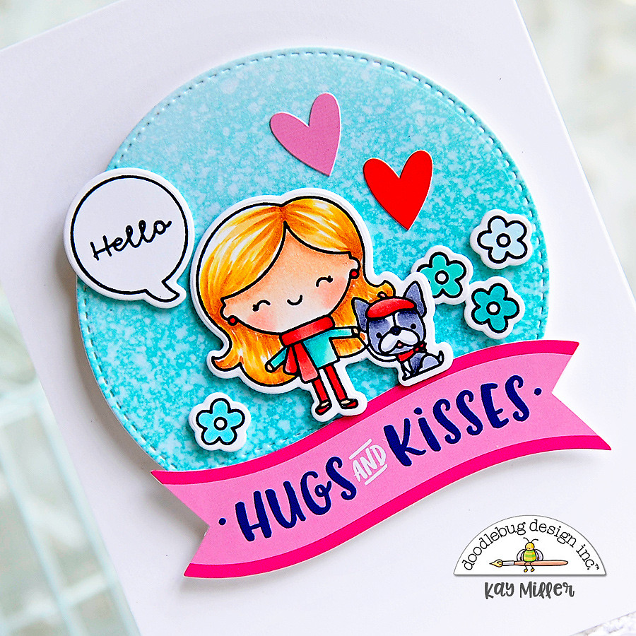 Doodlebug Design Inc Blog: YOU'RE SWEET STAMPS & CUTS | with Kay