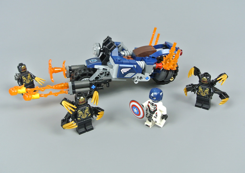 NEW LEGO Marvel Captain America Minifigure Outriders Attack 76123