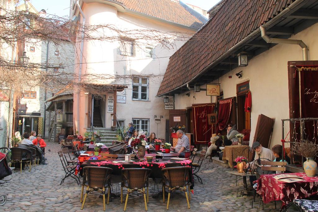 Master's Courtyard, Old Town Tallinn