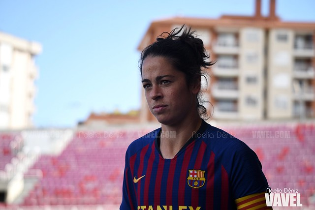Marta Torrejón ante el Sevilla Fútbol Club en la jornada 29 de la Liga Iberdrola | Foto de Noelia Déniz, VAVEL