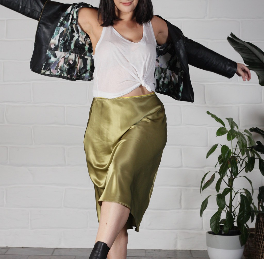 Evie Bias Skirt - Julia Bobbin