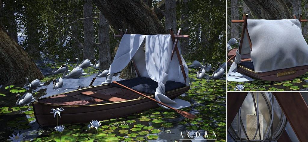 ACORN Cuddle Rowboat