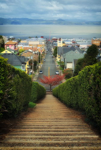 ian sane images downtown astoria oregon columbia river 11thstreet jerome irving landscape street photography thegoonies perspective wishilivedhere tree spring chickensteps canon eos 5ds r camera ef1740mm f4l usm lens