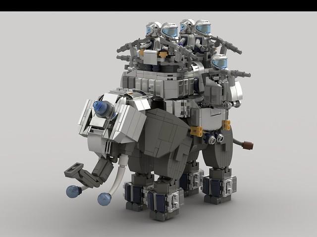 African Elephant Rider (V1.0)