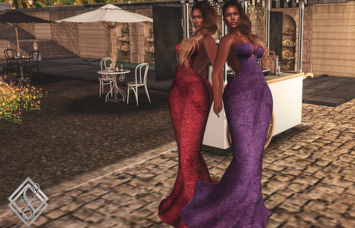 The Surreal Lyfe feat:::::.:: AM (Ave-Moi Couture ) ::. Mortisia Pearl Gown @ Designer Showcase