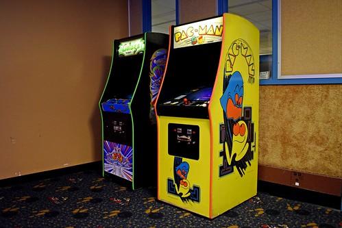 Pac-Man and Galaga